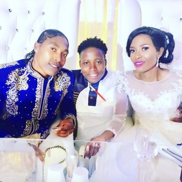 La championne olympique Caster Semenya s'est mariée avec sa compagne