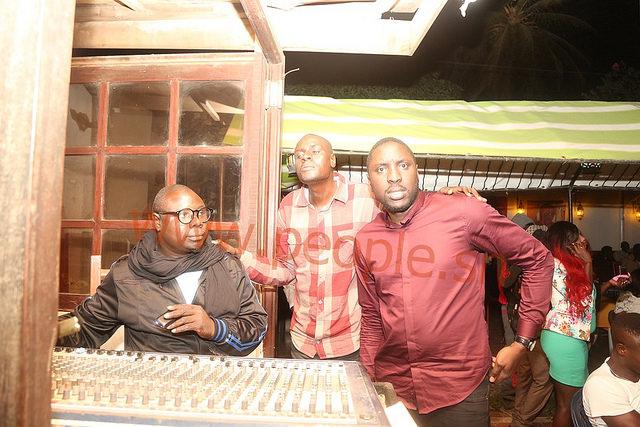 L'image de la dernière apparition publique de Ablaye Mbaye ce samedi au Just 4 U lors de la soirée de Pape et Cheikh
