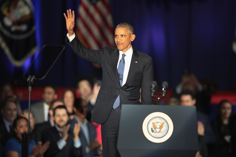 États-Unis : les adieux poignants de Barack Obama (Jeune Afrique)