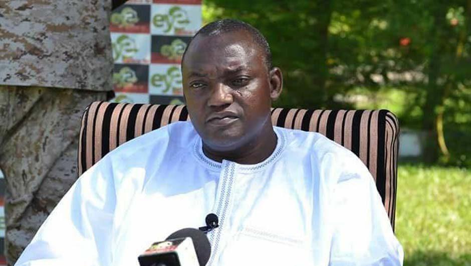 """Adama Barrow : """" Nous préférons que Jammeh reste ici en Gambie, il n'a nullement besoin d'aller dans un autre pays."""""""