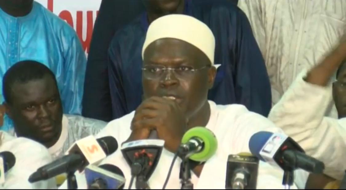 Khalifa Sall sur l'affaire Bamba Fall et Cie : « Chercher à neutraliser est vain et inutile »