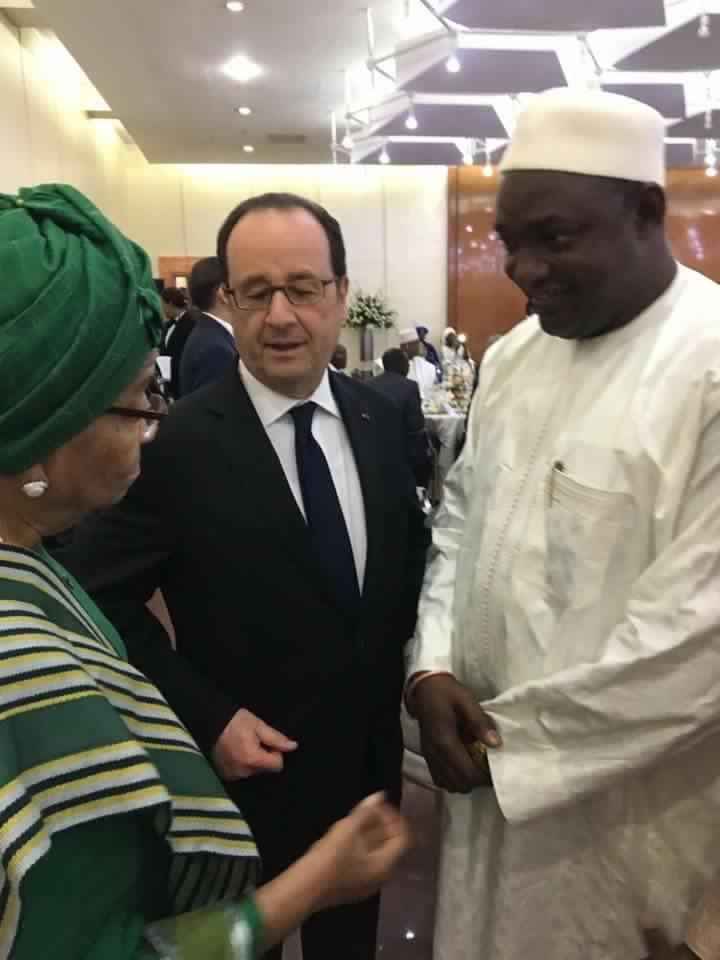 Sommet Afrique-France au Mali : Le Président élu Adama Barrow accueilli à bras ouverts par les chefs d'état dont François Hollande
