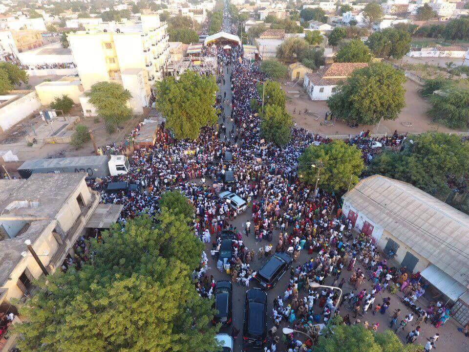 Les premières images du meeting de rentrée politique de Mamadou Mamour Diallo à LOUGA