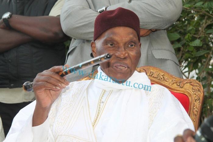 Message du Président Abdoulaye Wade aux Lions du football