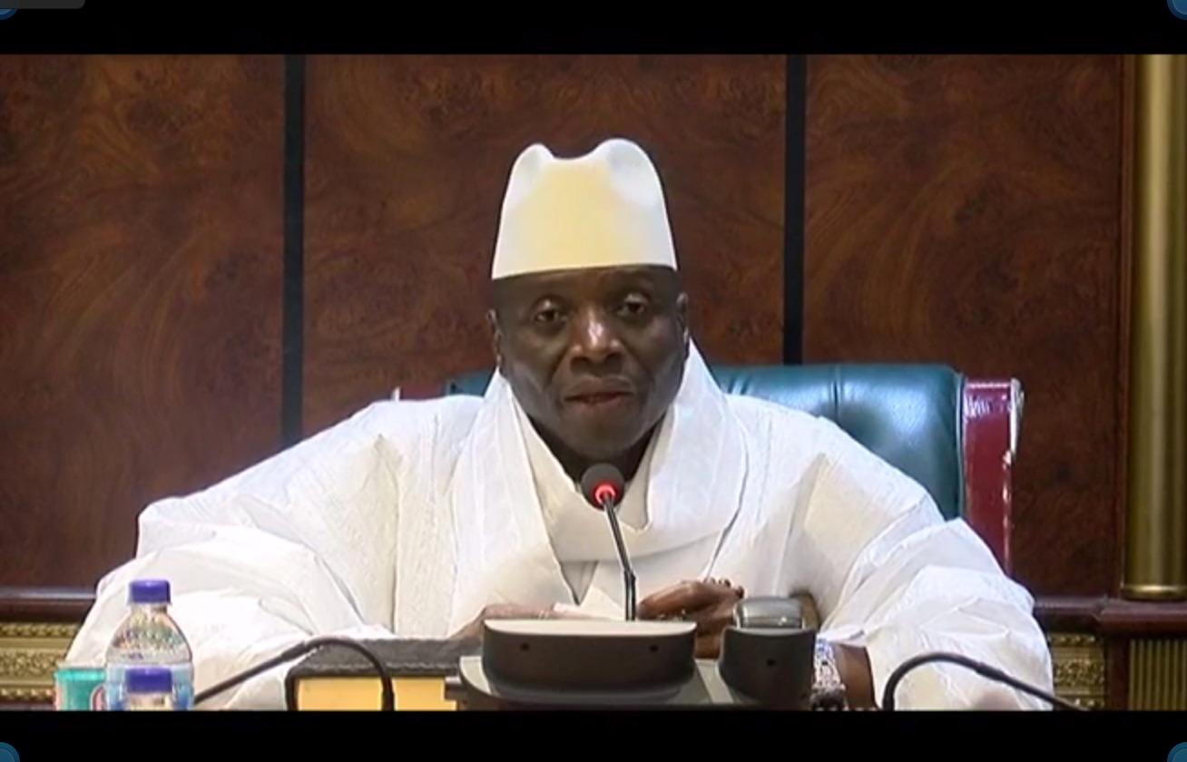 DÉCLARATION A LA TÉLÉVISION GAMBIENNE : Jammeh maintient sa position et appelle à respecter la Constitution de son pays