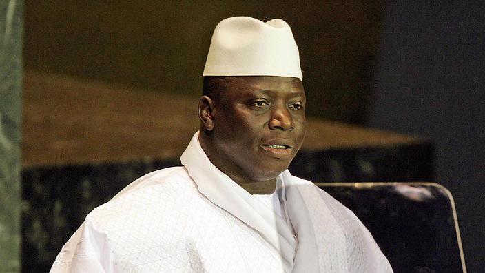 """""""Jammeh avait prêté serment en 2011, malgré un recours de Darboe"""" (Diplomate)"""