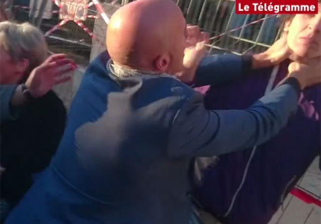 L'homme qui a giflé Manuel Valls condamné à 3 mois de prison avec sursis
