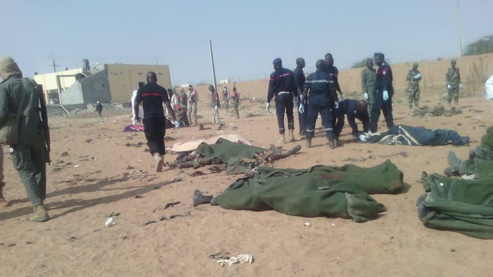 MALI : L'attaque de Gao revendiquée par les jihadistes d'al-Mourabitoune, selon le site mauritanien Al-Akhbar
