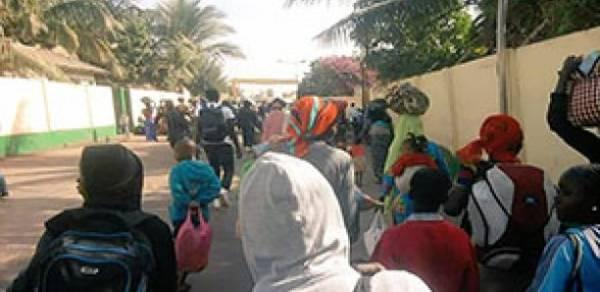 Des réfugiés Gambiens pris en charge par les autorités dakaroises