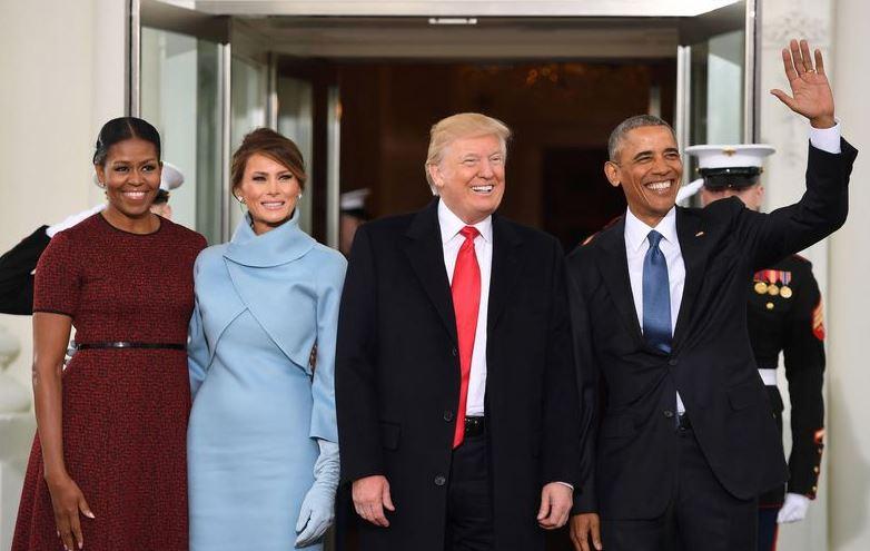 Donald Trump est arrivé à la Maison Blanche