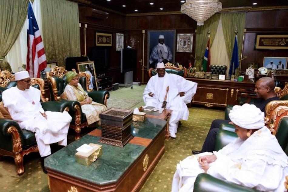 CRISE GAMBIENNE : La CEDEAO rejette la requête de Jammeh