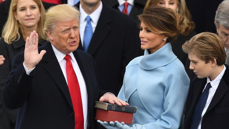 Donald Trump a prêté serment et devient le 45e Président des Etats-Unis
