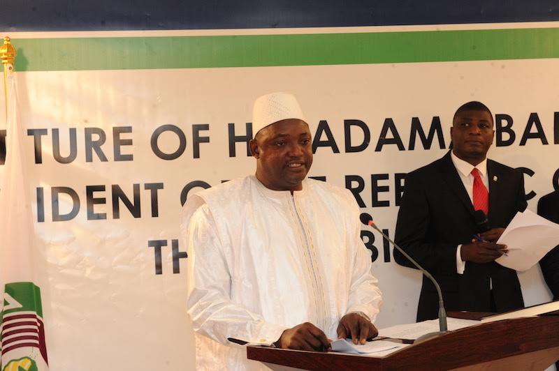 GAMBIE : Adama Barrow, un président très attendu