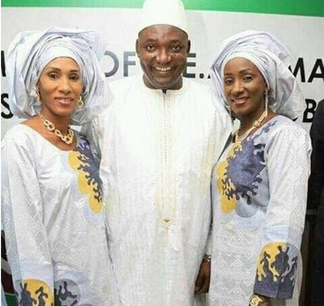 "Adama Barrow : "" Ma première femme sera ma first lady """