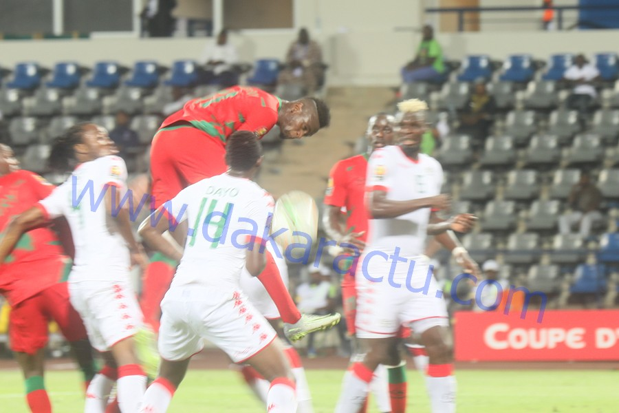 Les images du match Burkina Faso / Guinée Bissau