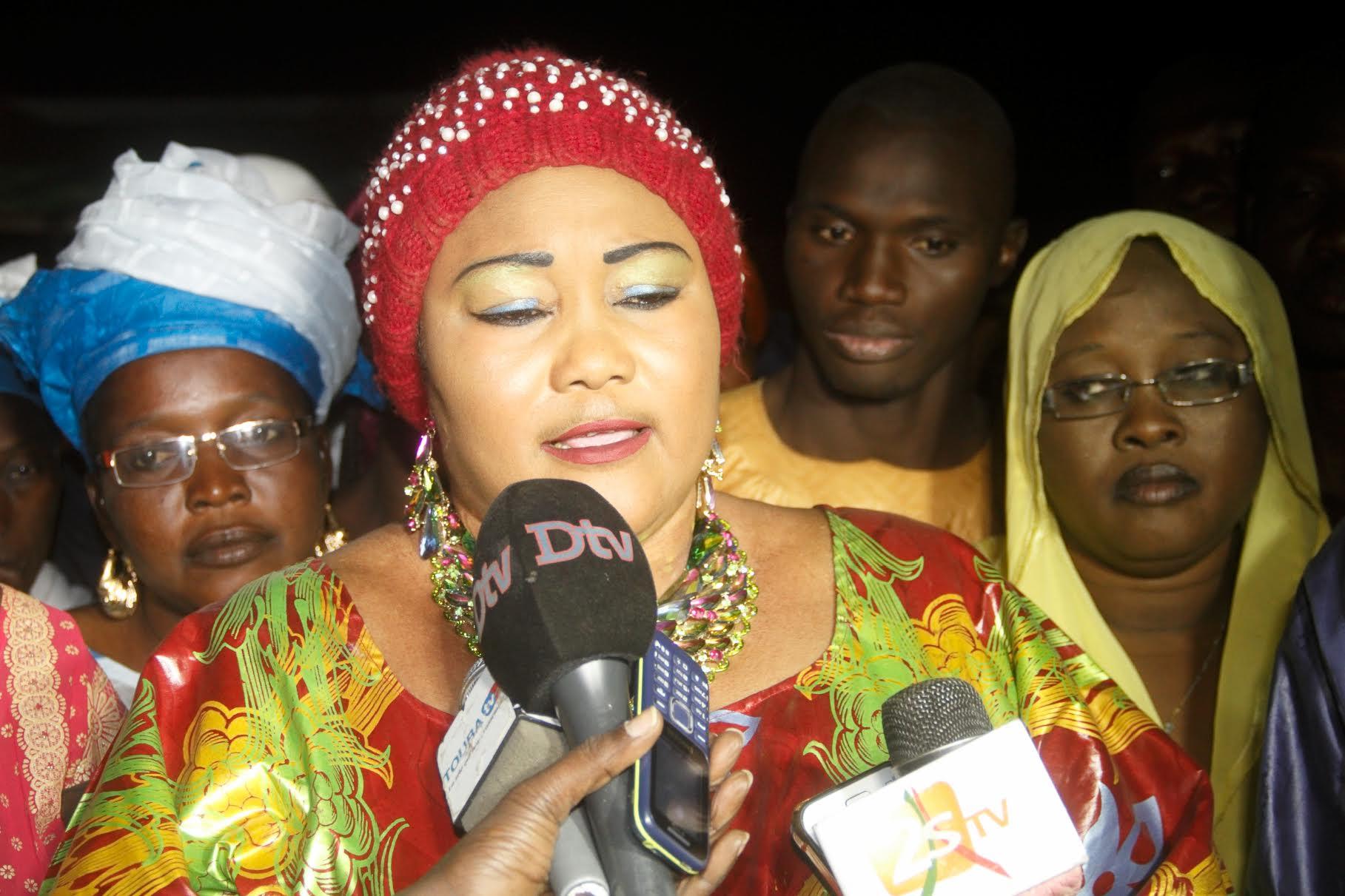 TOUBA - Sokhna Astou Boury Mbacké dénonce le problème d'eau qui secoue les localités périphériques