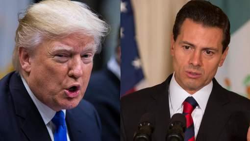 Trump conseille au président mexicain d'annuler sa visite s'il ne paye pas le mur