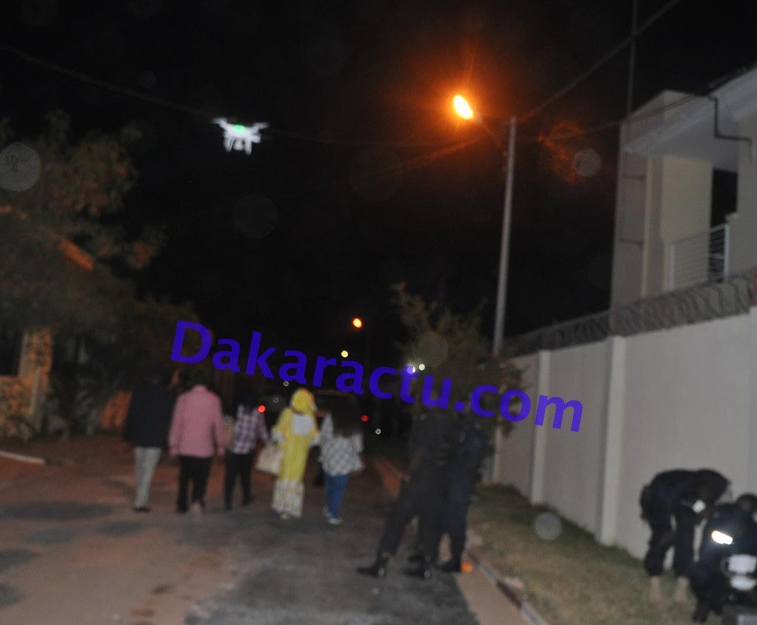 Gambie un drone de la gendarmerie s n galaise veille sur la maison d 39 ad - La maison de la gendarmerie ...