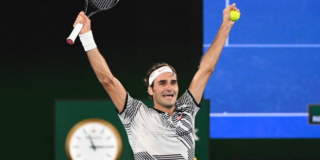 Roger Federer remporte l'Open d'Australie face à Rafael Nadal