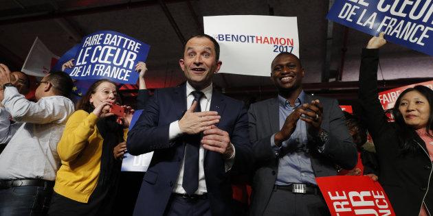 Résultats de la primaire de la gauche : Benoît Hamon large vainqueur face à Manuel Valls au second tour