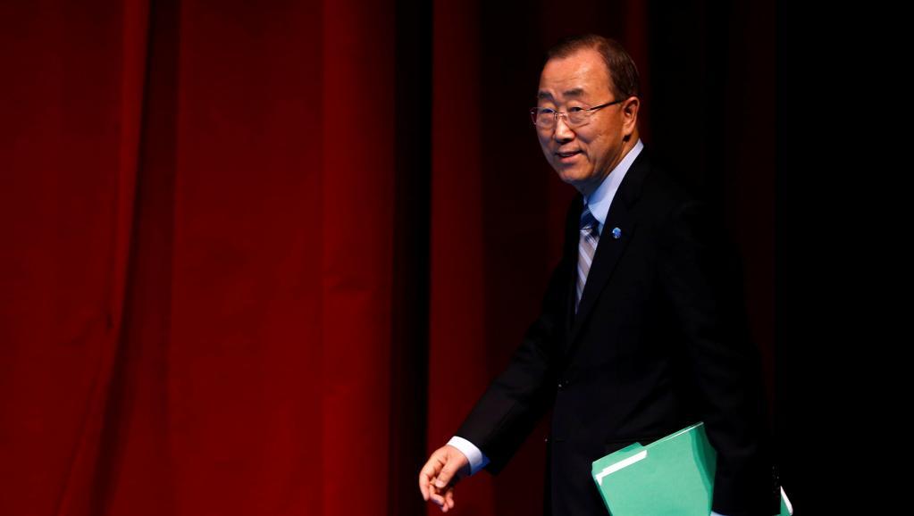 Ban Ki-moon met fin au suspense sur ses intentions présidentielles