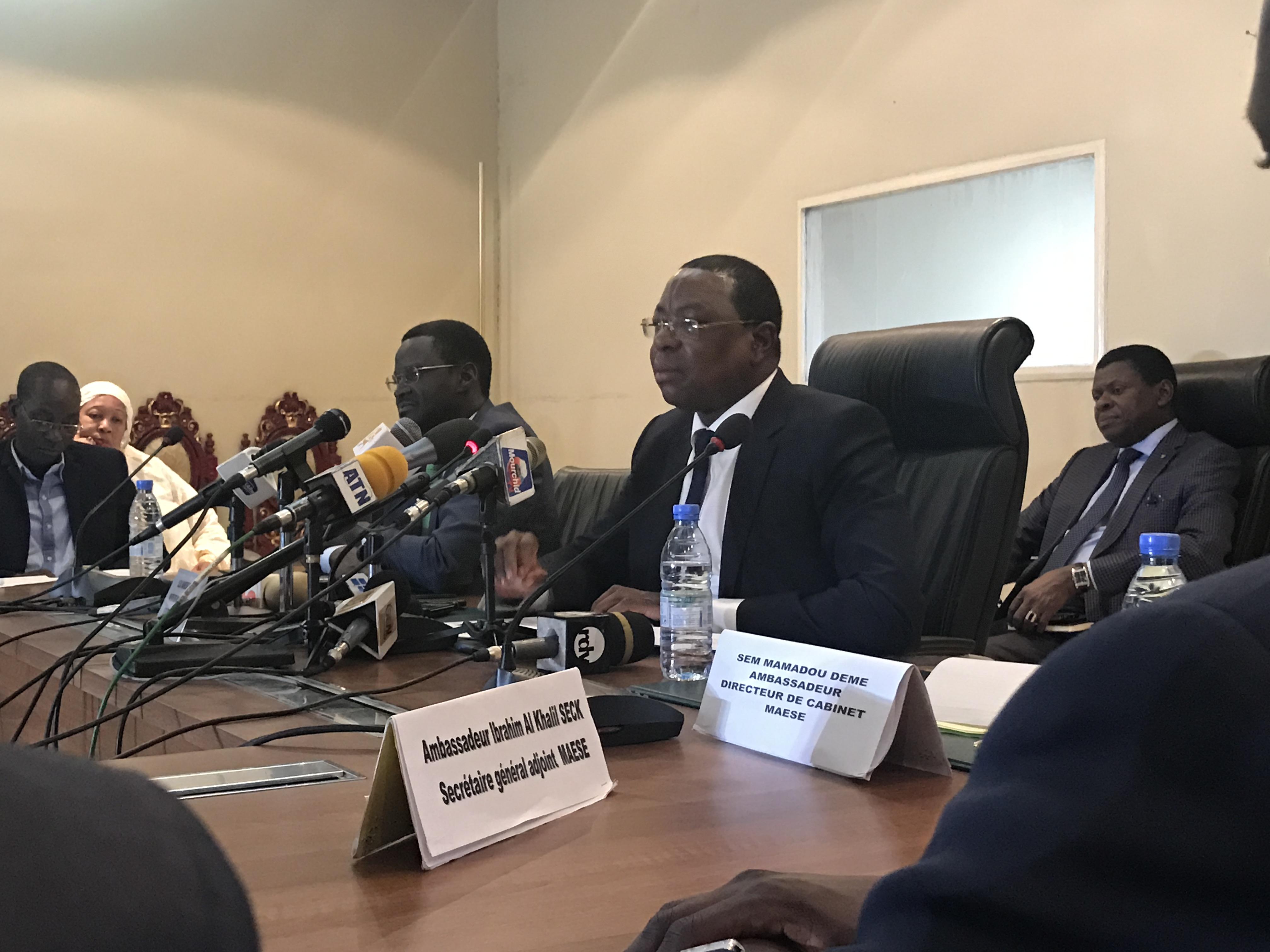 """Mankeur Ndiaye : """"Le vote pour l'élection à la présidence de la commission est secret"""""""