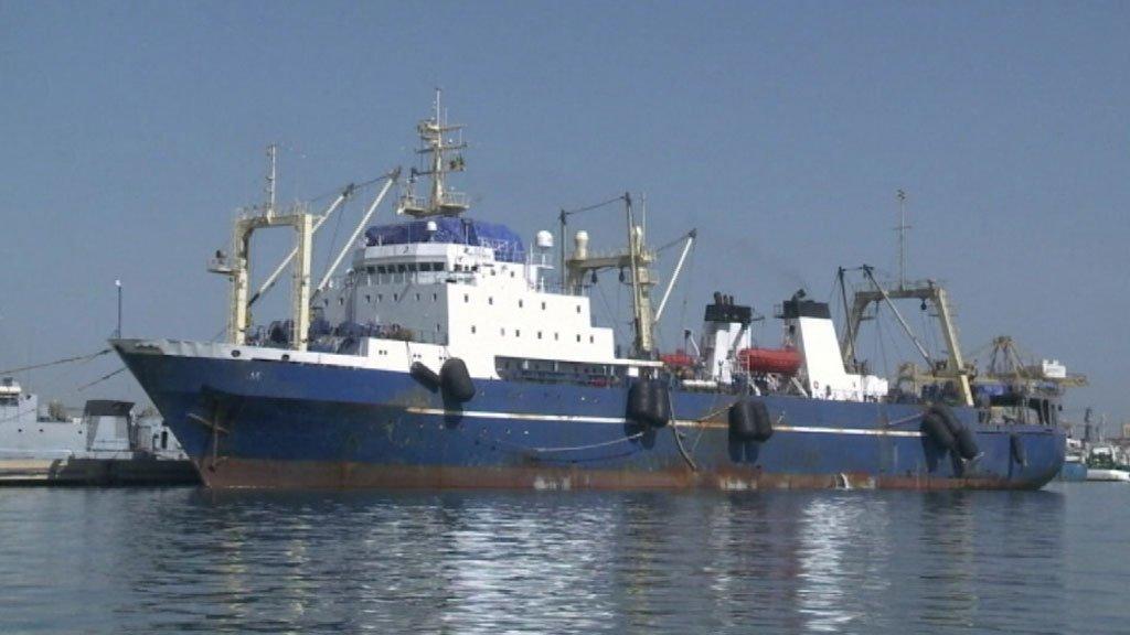 PÊCHE : Le Libéria a procédé à l'arrestation du navire sénégalais Hispasen 7.