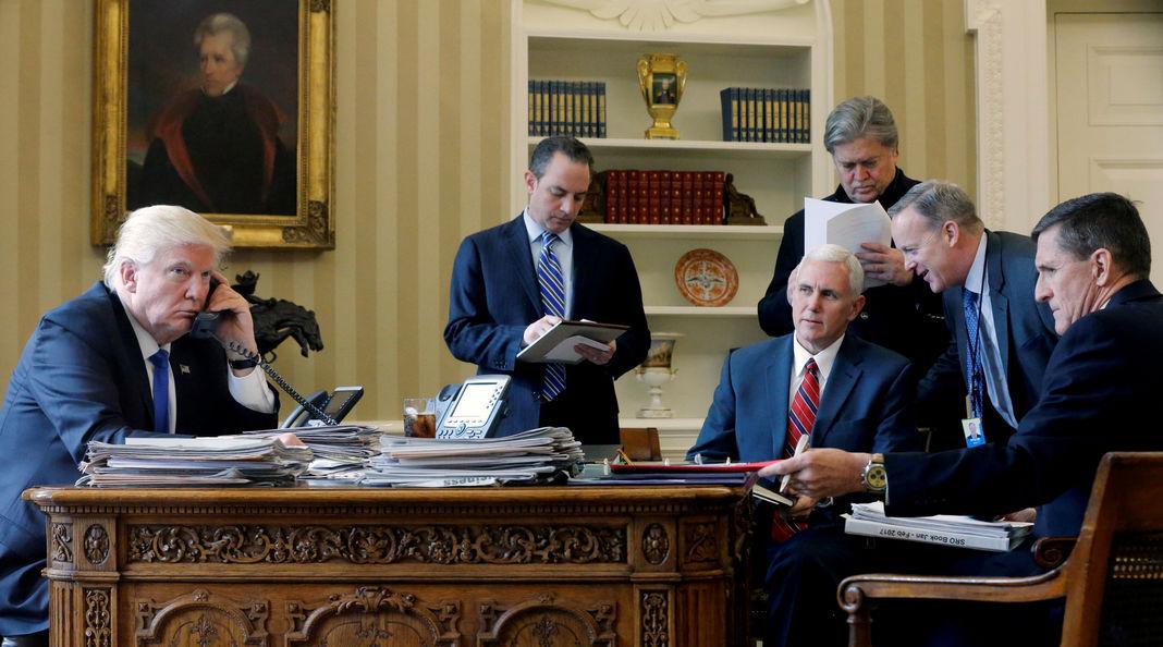 ETATS-UNIS :  Depuis l'arrivée de Donald Trump, la Maison Blanche sous tension