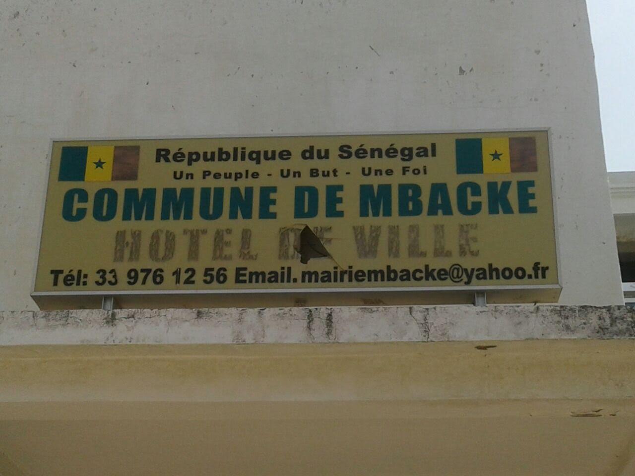 MAIRIE DE MBACKÉ - Arrêt total du travail... Retard de salaires... Absence de communication du maire.