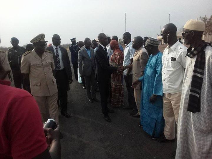Kédougou : Abdoulaye D. Diallo présente les condoléances de l'État qui s' engage à prendre en charge la famille de Yamadou Sagna