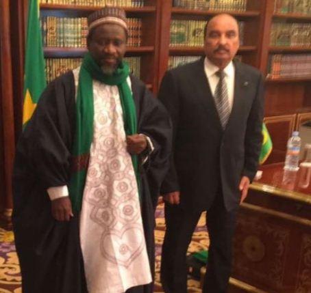 Nouakchott : Cheikh Mahi Cissé reçu par le Président Mauritanien