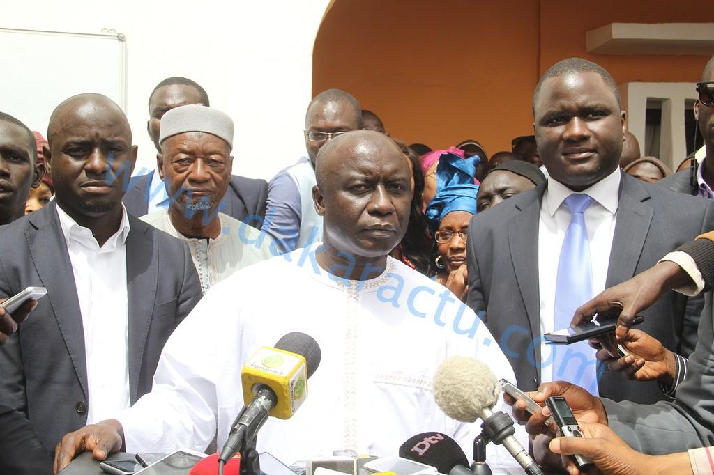 Décès du père de Déthié Fall : Idrissa Seck et Wattu Senegaal à Saint- Louis