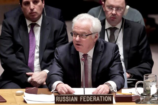 L'ambassadeur russe à l'ONU Vitali Tchourkine est mort subitement à New York