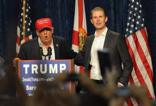 ETATS-UNIS : Le fils de Trump veut embaucher des immigrés
