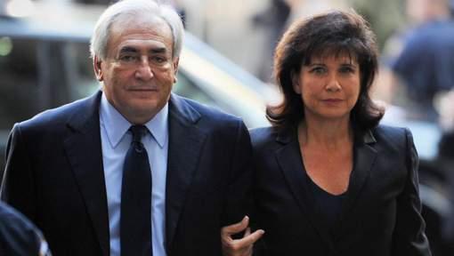 """Anne Sinclair épouse de Dominique Strauss-Kahn : """"Cette histoire va donc me poursuivre jusqu'à ma mort?"""""""