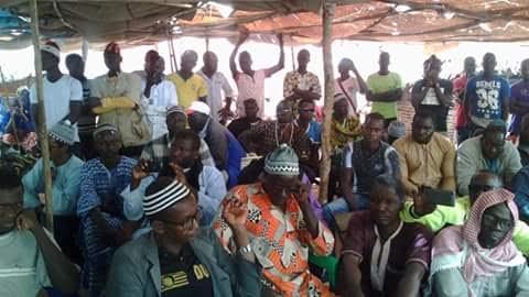 La cérémonie du 7e jour du décès de Yamadou SAGNA, Ibrahima de son vrai nom dans son village natal de KOBOKHOTO