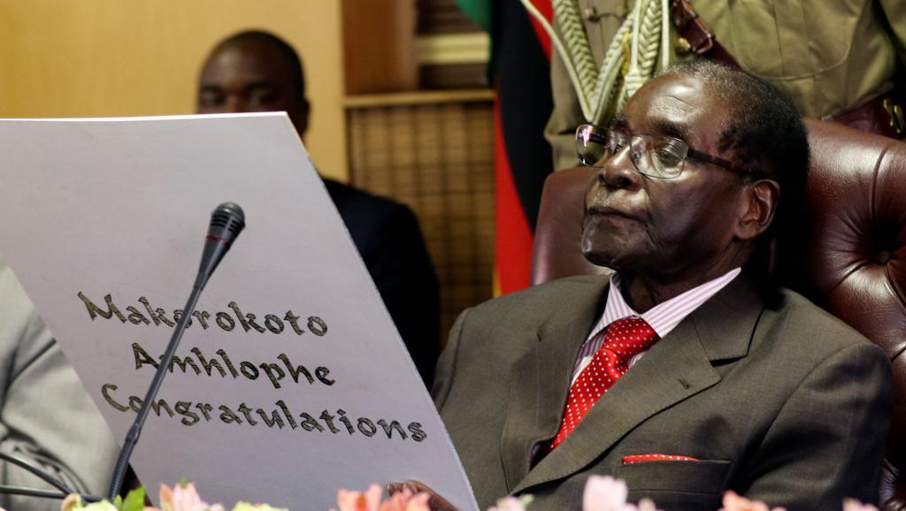 ZIMBABWE : Mugabe fête ses 93 ans avec faste autour d'un banquet géant