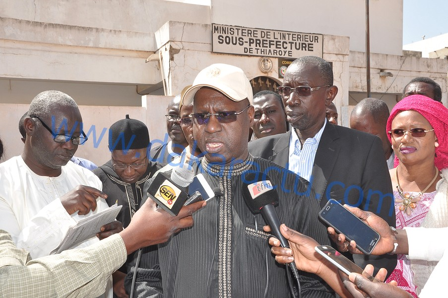 Abdou Karim Sall dément l'existence de commissions fictives et déclare 254 000 inscrits dans le département de Pikine