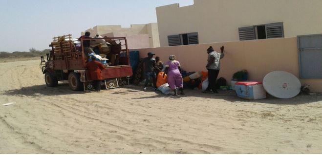 GCO réinstalle 35 ménages impactés dans le nouvel Eco-village de recasement.