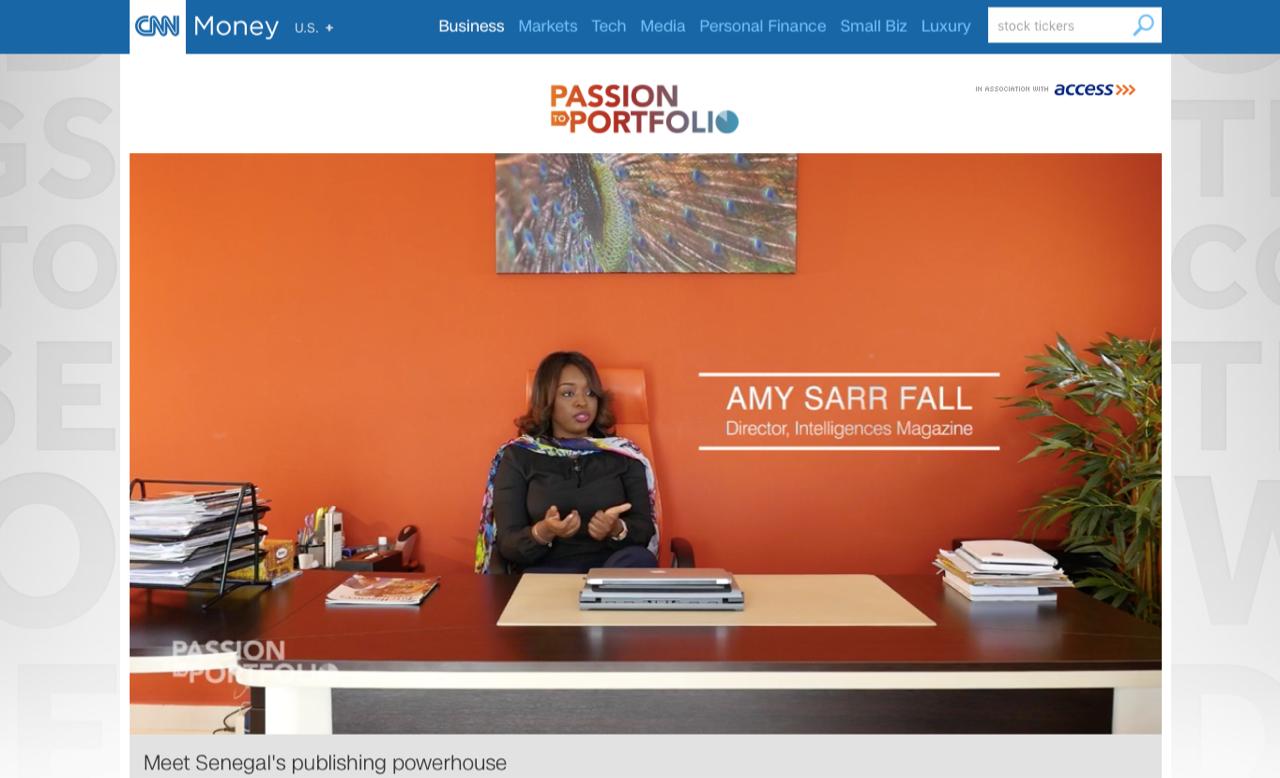 CNN annonce un reportage spécial sur Amy Sarr Fall