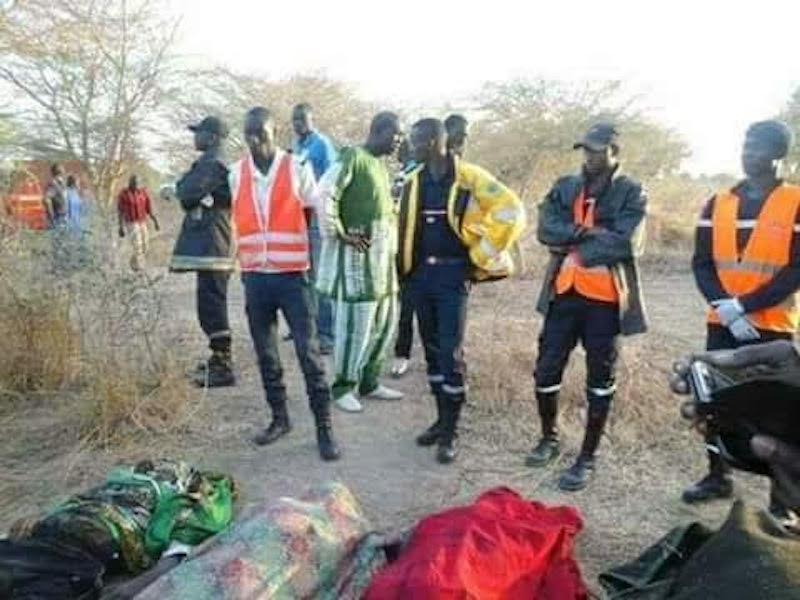 ACCIDENT ENTRE NIORO ET DINGUIRAYE - Deux corps non encore identifiés