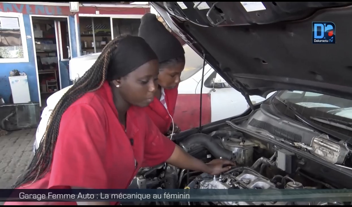 Garage femme auto la m canique au f minin for Garage mecanique auto a louer