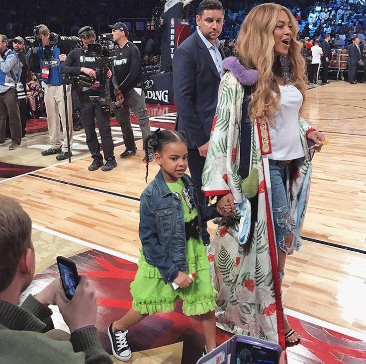Le mignon clin d'oeil de la robe de Blue Ivy, la fille de Beyoncé