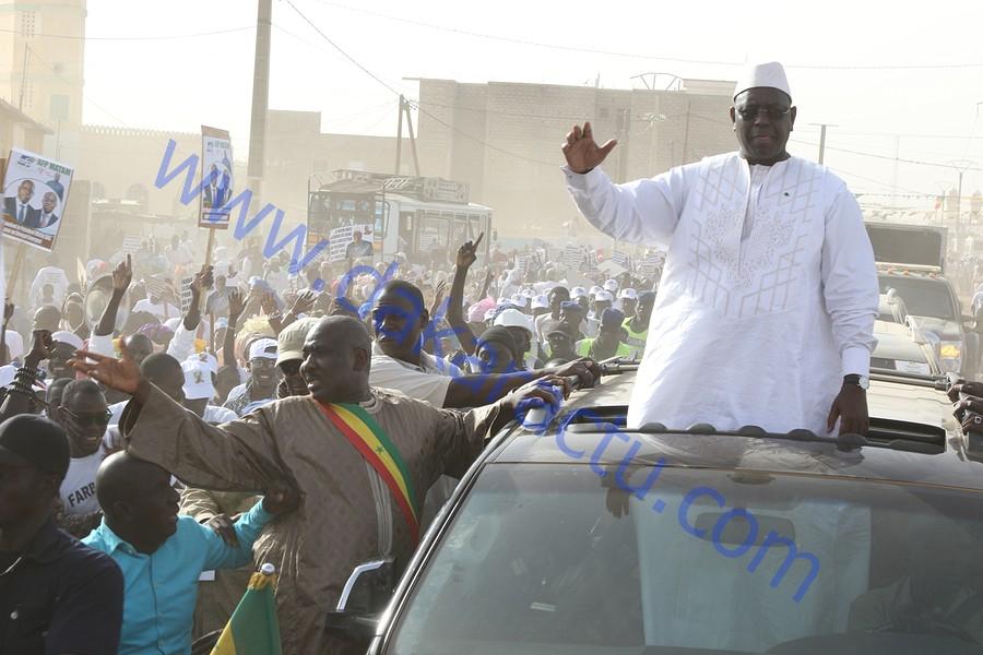 Accueil populaire de Macky Sall à Matam : La démonstration de force de Farba Ngom