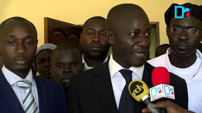 """Communiqué de presse de l'APR-Grand Yoff : """"Menaces contre le responsable politique Cheikh Ndiaye, nous n'accepteront aucune intimidation."""""""