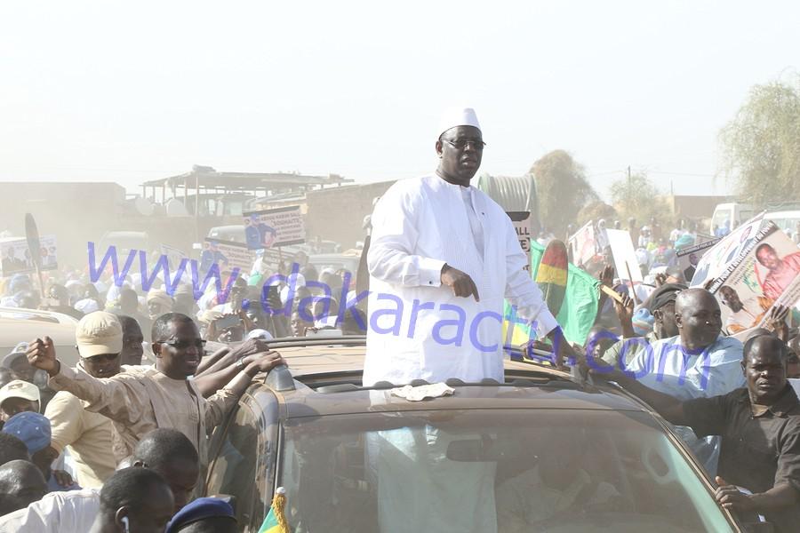Mobilisation exceptionnelle pour accueillir Macky Sall : Daouda Dia confirme sa suprématie à Kanel