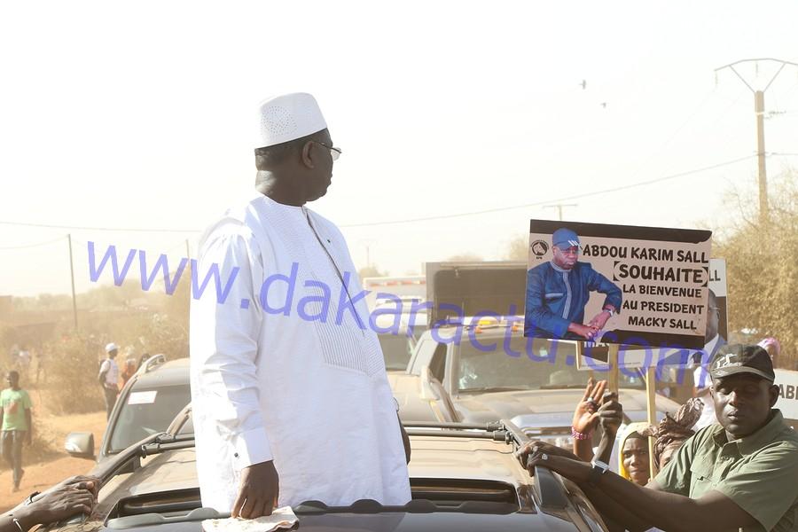 Accueil du président Macky Sall à Orkadiéré : La remarquable partition d'Abdou Karim Sall