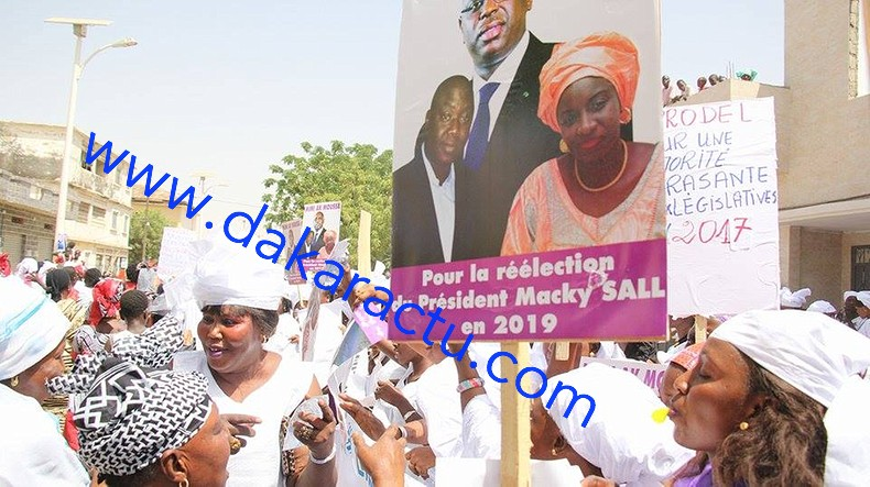 Macky à Kaolack : Léona Niassène dans l'effervescence