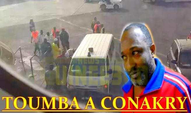 GUINÉE : Toumba Diakité est arrivé à Conakry
