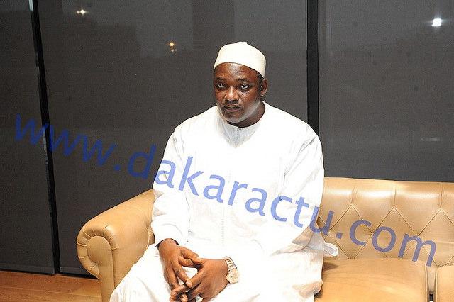 Gestion des deniers publics: Adama Barrow montre l'exemple